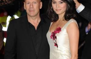 Bruce Willis : Aux côtés de sa délicieuse épouse, il est un homme radieux !