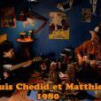 Louis et Matthieu Chedid jouent aux pirates dans une quête au trésor merveilleuse, pour le clip de  Tu peux compter sur moi , premier extrait du nouvel album de Louis Chedid. Mais le vrai trésor, ils le posssèdent déjà : leur affection immense