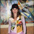 """Victoria Abril en tournage pour """"La chanson du dimanche, la série"""" (sur la chaîne Comédie ! en 2011)"""