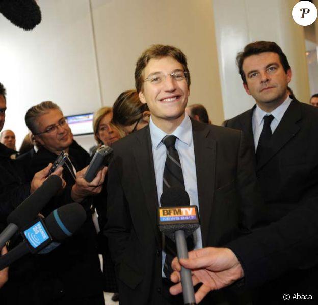 Jean Sarkozy, Conseil général des Hauts-de-Seine à Nanterre, le 23 octobre 2009