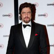L'énigmatique Benicio Del Toro a mis de somptueuses Italiennes à ses pieds !
