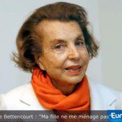 """Liliane Bettencourt : """"Je suis prête à la bagarre"""" !"""