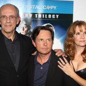 Michael J. Fox, alias McFly, retrouve Doc pour un retour vers le passé !