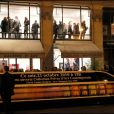 Le vernissage de la galerie Caplain-Matignon à Paris le 21 octobre 2010