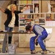 Roland Giraud et Maaike Jansen dans  Le Technicien