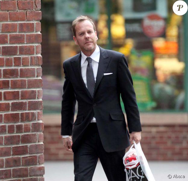 Kiefer Sutherland, New York, mai 2010