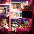 Les vitrines de Galeries Lafayette à Paris décorées pour Noël - 4 novembre 2010