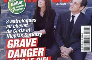 Couple Sarkozy-Bruni : un 'grave danger dans le ciel du Président' ...