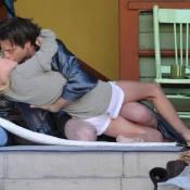 Kate Bosworth et Justin Kirk : Un baiser de cinéma... ou pas ?