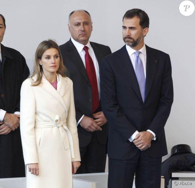 Samedi 6 novembre, Letizia et Felipe d'Espagne assistaient à la messe papale à Compostelle.