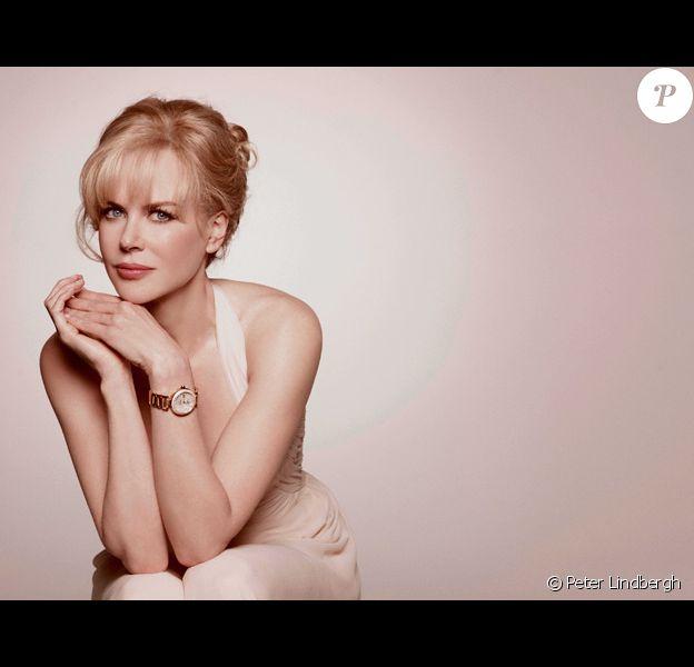 Nicole Kidman porte la montre Ladymatic d'Omega