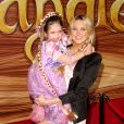 Stephanie Pratt et sa nièce lors de la première du film d'animation Tangled à Los Angeles le 14 novembre 2010