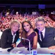 Le jury d'Incroyable Talent : Dave, Sophie Edelstein et Gilbert Rozon