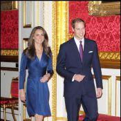 Le prince William et sa douce Kate : Admirez la sublime bague de fiançailles !