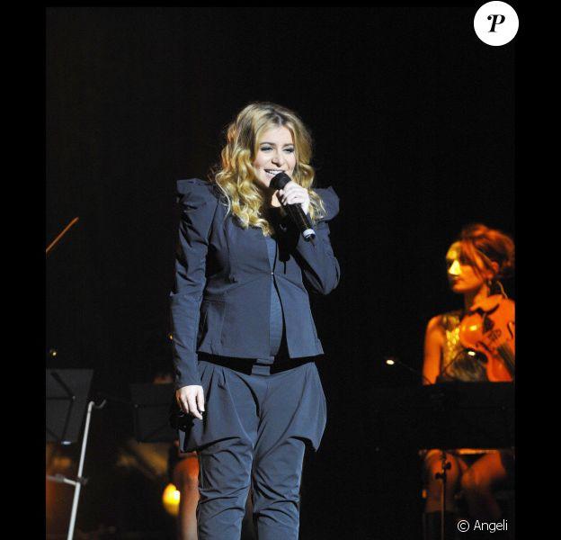 Julie Zenatti en concert au théâtre Dejazet à Paris, le 19 novembre 2010