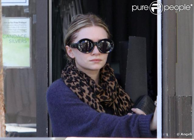 Ashley Olsen à Los Angeles le 22 novembre 2010.