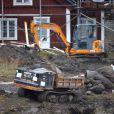 Elin Nordegren, ex-épouse de Tiger Woods, dépense des millions d'euros pour faire renconstruire sa maison d'été à Falgaro sur l'île aux oiseaux près de Stockholm le 18 novembre 2010