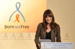 Carla Bruni ravissante et engagée devant une assemblée investie...