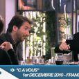 C à vous  présentée par Alessandra Sublet avec Benoît Magimel et Edouard Baer, France 5, le 1er décembre 2010