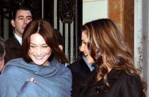 PHOTOS : Carla Bruni-Sarkozy très complice avec Rania de Jordanie
