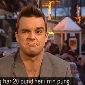 Robbie Williams baisse son pantalon en pleine émission, sa femme doit apprécier!