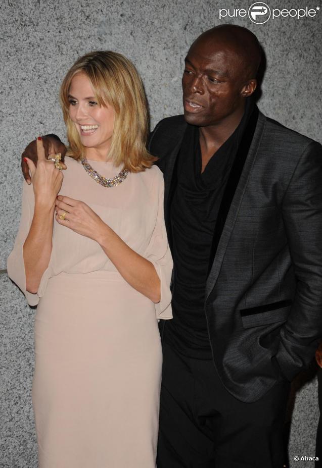 Heidi Klum et son mari Seal