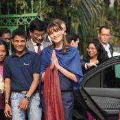 """Carla Bruni en Inde : Quand """"son fils"""" fait le buzz !"""