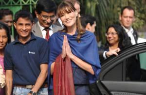 Carla Bruni en Inde : Quand