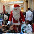lors du Noël de l'Elysée le 15 décembre 2010 au Palais présidentiel
