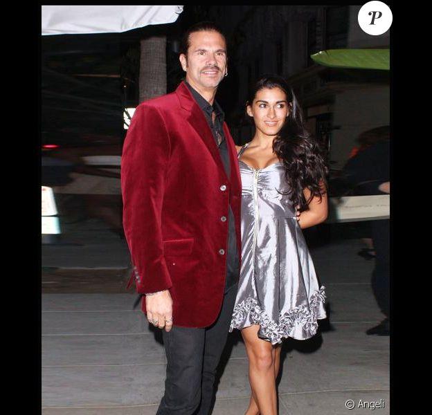 Lorenzo Lamas et sa fiancée Shawna Craig à Beverly Hills, le 14 janvier 2010.
