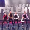 Les Echos-Liés dans la finale d'Incroyable Talent