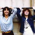 Sophie Marceau et Sheila O'Connor - Vic et Pénélope dans La Boum