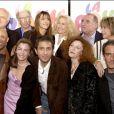 Sophie Marceau, Brigitte Fossey, Claude Brasseur, alexandre Sterling, Alexandra Gonin et Sheila O'Connor de La Boum