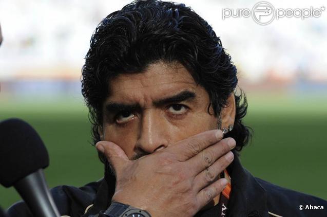 Diego Maradona a vu trois de ses frères et soeurs être agressés à Buenos Aires, le 27 décembre 2010.