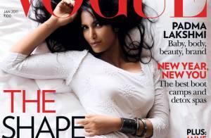 Padma Lakshmi : A 40 ans, elle séduit encore les plus grands...