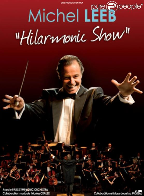 Michel Leeb en tournée avec son nouveau spectacle  Hilarmonic Show