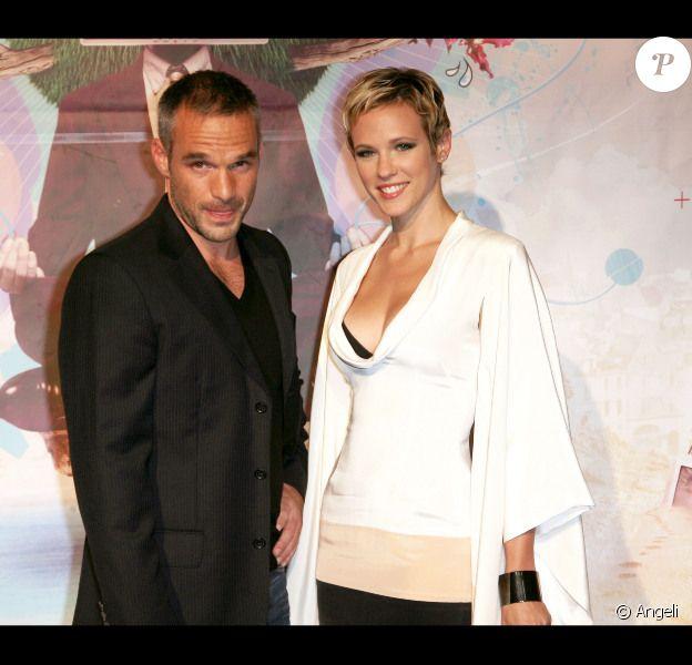 Philippe Bas et sa compagne Lorie