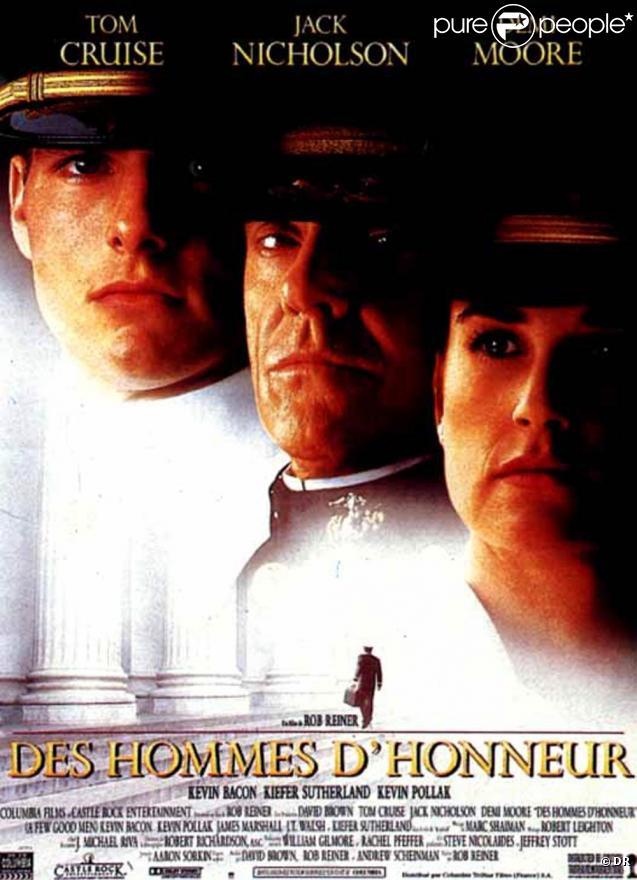 Des images de  Des hommes d'honneur , sorti en 1992, et diffusé le 20 janvier à 20h40 sur TMC.