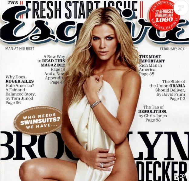 Brooklyn Decker, sublime pour Esquire