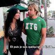 Diana et Jérôme en plein big love dans Les Anges de la télé-réalité