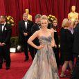 Rachel McAdams porte une robe Elie Saab collection printemps-été 2010 aux Oscars, le 7 mars 2010.