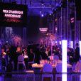 Le dîner de gala du 90e Prix d'Amérique se déroulait au Cent-Quatre (Paris XIe), samedi 29 janvier 2011.