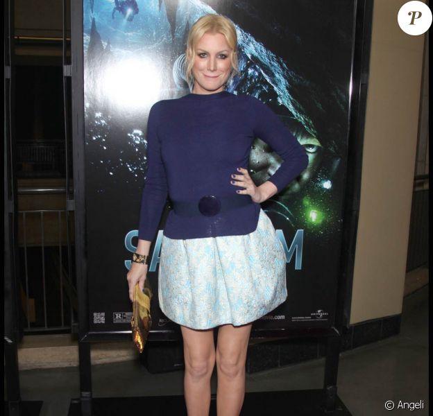 Alice Evans lors de l'avant-première de Sanctum, au Graumann's Chinese Theatre d'Hollywood, à Los Angeles, le 31 janvier 2011.