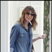 Ellen Pompeo : Très souriante... que lui arrive-t-il ?