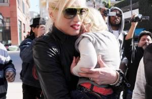 Gwen Stefani : Son fils Zuma, le p'tit caïd, a fini chez le médecin....