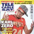Karl Zéro en couverture de Télé Cable Sat