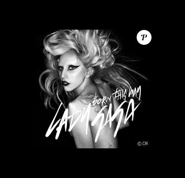 Lady Gaga, pochette du single Born This Way, photographiée par Nick Knight.