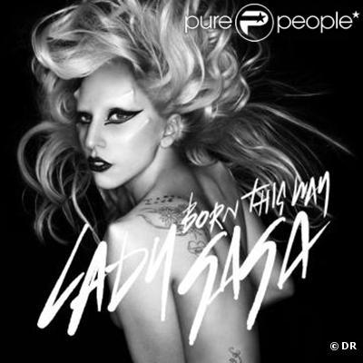 Lady Gaga, pochette du single  Born This Way , photographiée par Nick Knight.