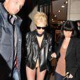 Lady Gaga à Paris, le 21 décembre 2010