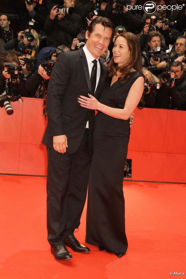 Diane Lane et Josh Brolin à l'occasion de la présentation de  True Grit , en ouverture de la 61e Berlinale, le 10 février 2011.
